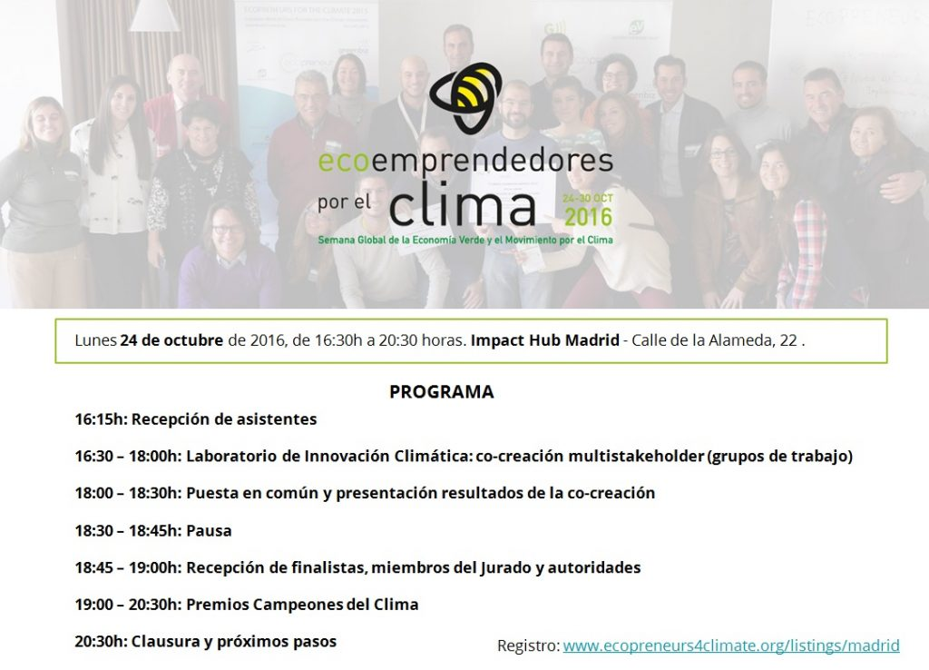 eco4clim16-madrid-programa
